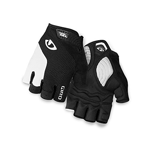 Giro Strade Dure SG Men's Road Cycling Gloves - Black/White (2021), Medium