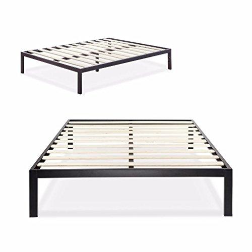 Zinus Modern Studio 14 Inch Platform 3000 Metal Bed Frame / Mattress Foundation / no Boxspring needed / Wooden Slat Support / Good Design Award Winner, Queen