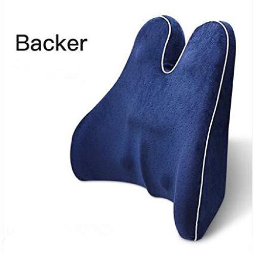 Cushions Cushions Memory Foam Lumbar Pillows for Lumbar Support, Orthopedic Protection, for Car Seats, Sofas