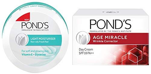 Buy Ponds Light Moisturiser 150ml on Amazon | PaisaWapas.com
