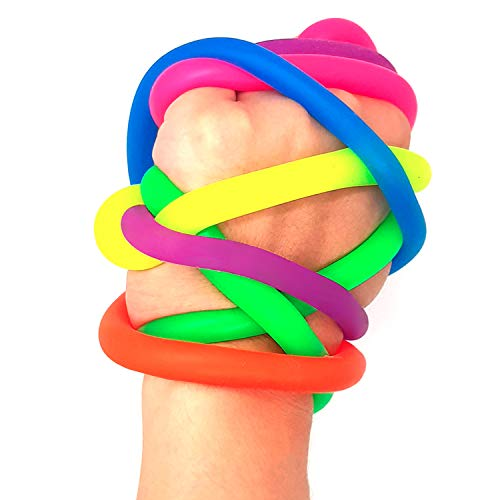 BunMo Stretchy Fidget Toys for Adults and Kids - 6pk