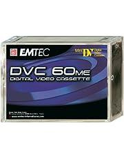 Emtec DVC 60 Min ME (5) Video cassette 5 pieza(s) - Cinta de audio/video (60 min, 5 pieza(s))