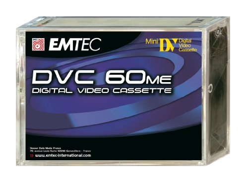 Emtec DVC 60 Min ME (5) Video cassette 5 pieza(s) - Cinta de audio/video (60 min, 5 pieza(s))