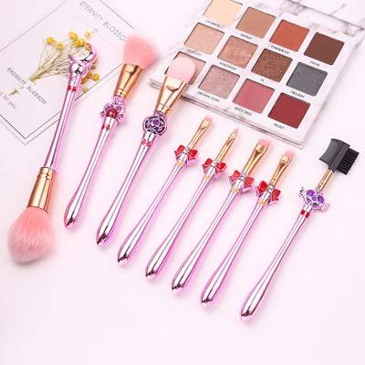 Lot de 8 pinceaux de maquillage Sailor Moon