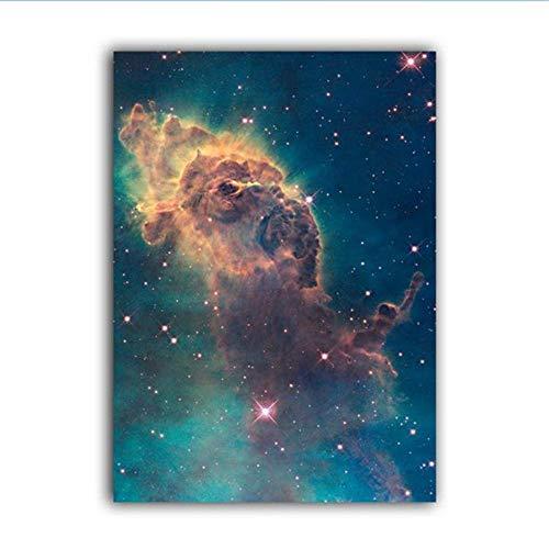 RuiChuangKeJi Art poster Universum Art Galaxy Poster Nebula Prints Hubble Telescoop Ruimte Canvas Schilderen Wetenschap Muur Kunst Foto 23.6