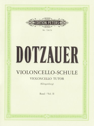 Violoncello-Schule - Band 2: Zweite bis fünfte Lage (Grüne Reihe Edition Peters)