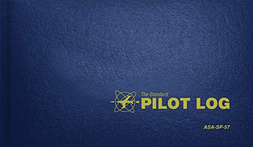 The Standard Pilot Log (Navy Blue): ASA-SP-57 (Standard Pilot Logbooks)