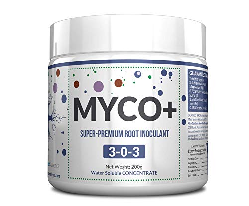 MYCO+ - The Best Mycorrhizal Root Booster for A Bigger, More Explosive Root Mass (200g)