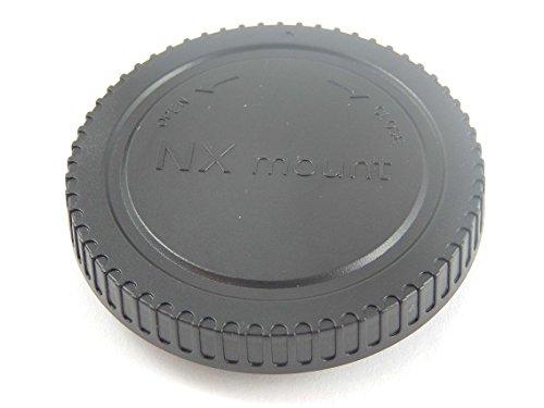 vhbw Tapa Carcasa Compatible con Samsung NX3300, NX5, NX500 cámara, DSLR - plástico, Negro