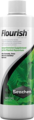 Seachem Flourish Complément pour Plantes d'aquarium – Pack de 25 x 250 ML