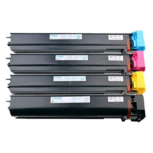 ZAYMB-Toner Cartridge Cartucho de Tinta Compatible de Konica Minolta TN711 Caja de Tinta Bizhub C654 754 Digital Copiadora