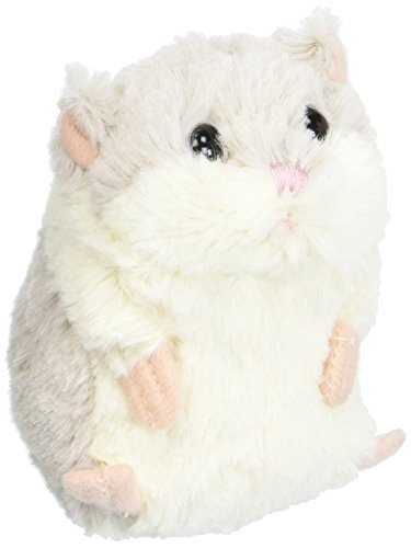 Grey & White Plush Lil' Hamster by Ganz