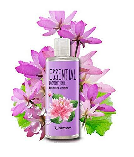 Berrisom Essential Boosting Toner Face Wash Lotus Brightening & Purifying 265 ml
