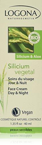 Logona Gesichtscreme mit Silicium aus Reis & Aloe Vera (40 ml)