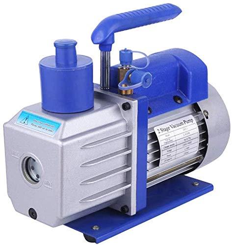 Alu Vakuumpumpe Unterdruckpumpe Pumpe Klimaanlagen 2-Stufig 0.3Pa 142 L/min 4.5CFM NEU