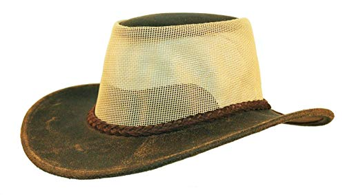 Kakadu Australia - Chapeau Western - Uni - Homme - Marron - Small