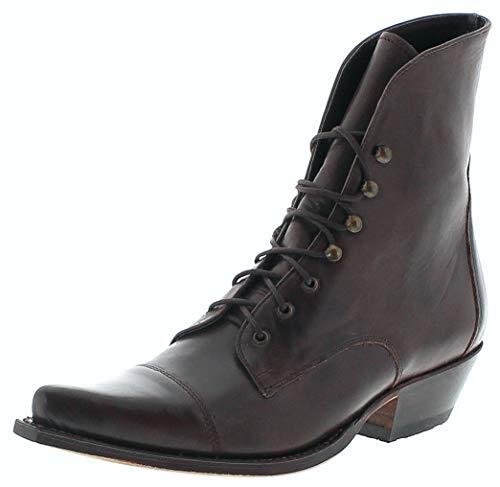 Sendra Boots Damen Stiefelette 2699 Schnürstiefel Braun 38 EU