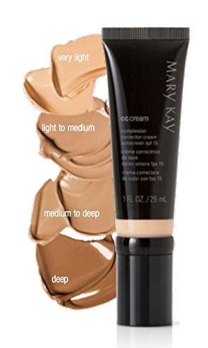 Mary Kay Cc Cream Sunscreen Broad Spectrum SPF 15 ~ Very Light 1 FL. oz/ 29 ml