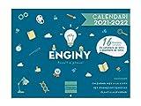 Finocam Calendario de Pared 2021 2022 Mes vista Septiembre 2021, Diciembre 2022 16 meses 300X225 Imágenes 16 meses Ingenio Catalán