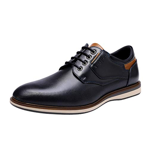 Bruno Marc Men's Navy Casual Dress Shoes LG19008M Size 11 M US