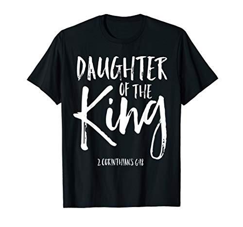 Daughter of the King Corinthians 6:18 Christian Woman Shirt