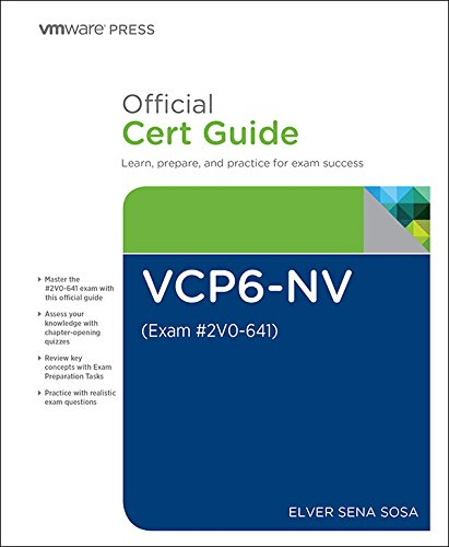 Image OfVCP6-NV Official Cert Guide (Exam #2V0-641) (VMware Press Certification) (English Edition)
