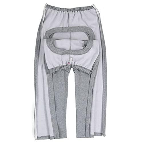 Pantalones para el cuidado de pacientes, pantalones para incontinencia Calzoncillos lavables convenientes para que las personas con incontinencia vayan al baño para evitar una escena avergonzada