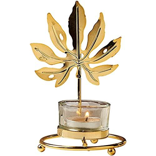 IG Soporte de Vela Candlestica de Oro, Candelero de Hierro, Decoración Del Hogar de Boda, Vela Soportes para Velas de Pilares,a