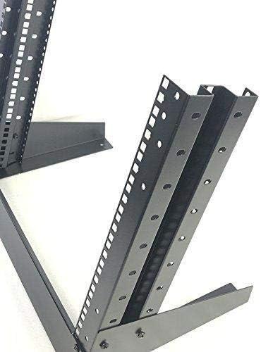 RAISING ELECTRONICS 9U Stand Open Rack Equipment fram for Server Networking and Data Server