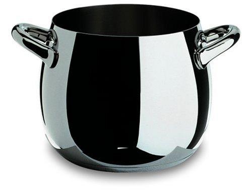 Alessi Sg100/20 Mami Marmite en Acier Inoxydable 18/10 Brillant, Ø 20 Cm