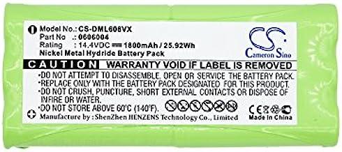 CS batería, Ni-MH 1800 mAh apta para DIRT DEVIL Libero M606 – 1, Libero M606 – 2, sustituye a Dirt Devil 0606004, R1 de l051b: Amazon.es: Hogar