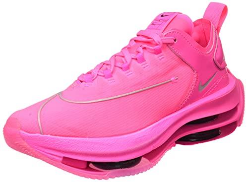 Nike Zoom Double Stacked, Scarpe da Ginnastica Donna, Pink Blast/Black-Pink Blast, 39 EU