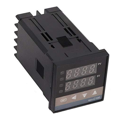 K Sensor de termopar 0 a 400 ° C Termostato de termopar Max25A SSR Kit de controlador de termostato de temperatura para tanques de agua