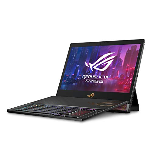 ROG Mothership GZ700 Gaming Laptop, 17.3 144Hz FHD Display with G-Sync, NVIDIA GeForce RTX 2080, Intel Core i9-9980HK, 1.5TB SSD (3X 512 in Raid0), 64GB DDR4 RAM, Windows 10 Pro, GZ700GX-XB98K