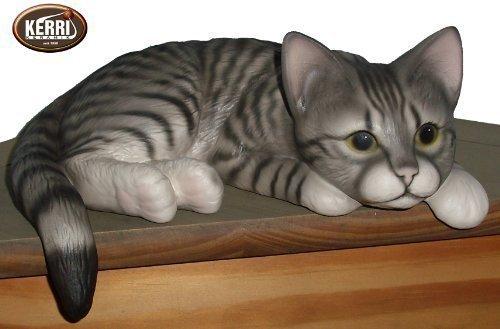 Katze Kantenhocker Dekokatze Keramikkatze