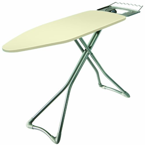 - Minky H403201 Advantage Ironing Board, 48-Inch by 15-Inch Surface, Silver Base