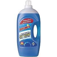 Brumol Detergente Gel Activo, 60 Lavados - Paquete de 4 x 4000 ml - Total: 16000 ml
