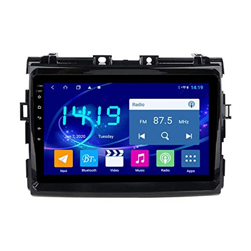 Multimedia Player Coche Estéreo Para TOYOTA PREVIA 2006-2012 Unidad Cabeza Android Pantalla Táctil Radio Receptor Sat NAV Support GPS Navegación Mirrorink Wifi Bluetooth DSP,4 core 4g+wifi: 2+32gb
