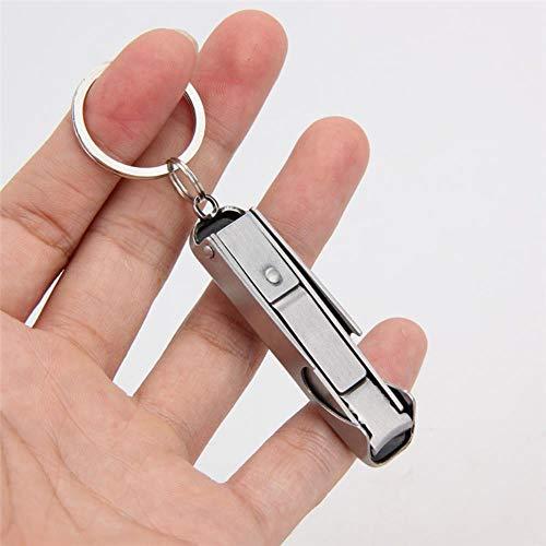 Gouen Pocket multi tool sleutelhanger sleutelhangermultitool sleutelhanger trimmer trim Manicure nagelknipper cutter outdoor kamp vouw nipper