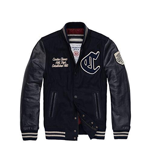 Cordon Sport Berlin Team Jacket, 1592-952-66 (Dunkel Blau, M)