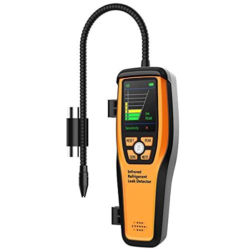 Elitech ILD-200 Infrared Refrigerant Leak Detector HVAC Halogen Gas AC Sniffer
