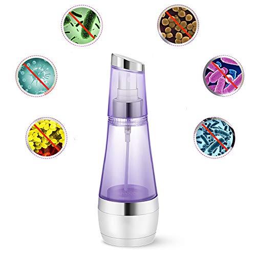 LICHUXIN Mini generador desinfectante, Fabricante de desinfectante casero de 50 ml para el hogar, Fabricante de Agua Recargable de ácido hipocloroso ionizado, desinfección doméstica al Aire Libre