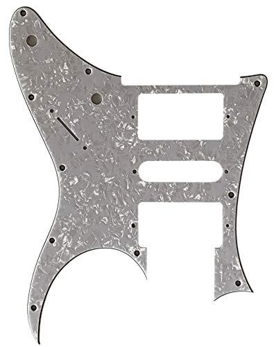 Golpeador de guitarra personalizado para Ibanez RG 350 DX Style, Perla blanca de 4 capas.