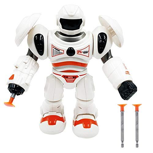 Roboter Spielzeug Space Walk Robot Elektrischer, Walking Robot Spielzeug Sound Luminous Robote Geschenk Laufroboter für...