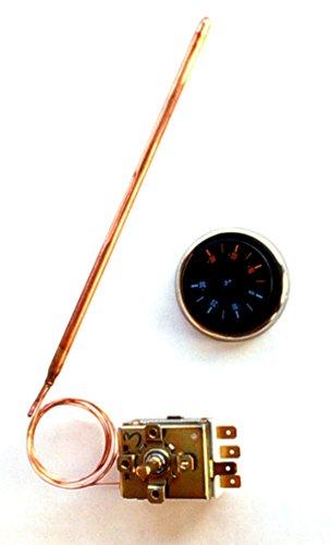 Universal-Regelthermostat TR2, 0...120 °C Thermostat TR2, 0...120°C, 16A/250V~
