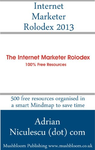 Internet Marketer Rolodex 2013 English Edition