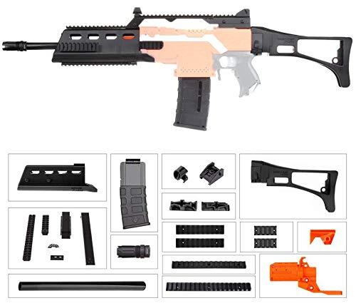 WORKER F10555 G36 (orangefarbener Adapter) für Nerf N-Strike Stryfe Blaster