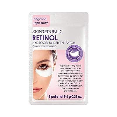 Skin Republic Retinol Hydrogel Under Eye Patch - 3 Pairs 9.6g from