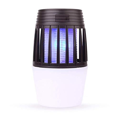 WJJ Lampada per zanzare 2 in 1 Lampada da Campeggio a LED, Portatile Impermeabile Piccola Ricarica USB Repellente per zanzare, Facile da trasportare, Adatto per Esterni