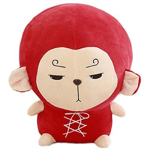 wwwl Peluche 30 centímetros de Flor vagabundo Mono Chun ama Almohada Goku Korea TV Corea Odyssey...